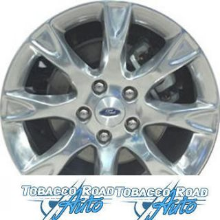 17 OEM Polished Alloy Wheel Rim 2011 Ford Fusion