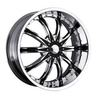24 inch VCT Abruzzi chrome wheel rim 6x5.5 I 370 Rodeo Trooper Sedona
