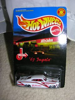 1998 HOT WHEELS SPECIAL EDITION JIFFY LUBE 65 IMPALA WITH REAL RIDERS