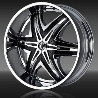 28 Diablo Wheels Elite Rims Tire Avalanche Silverado GMC Navigator
