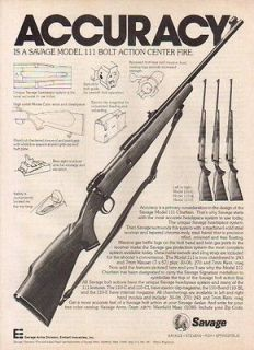 1977 SAVAGE AD MODEL 11 RIFLE ACCURACY
