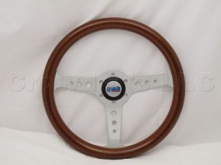 Line 350 mm Wood Marine Boat Steering Wheel + Hub   Part # 30117 (WH