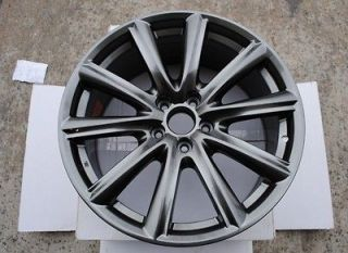 19 Wheels GS F Replica Hyper Black Rims Fits Lexus IS 250 350 06 07