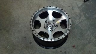 16 Ultra Rogue 5 lug Toyota Truck Wheel Rim 5x150 18x8.5 Black