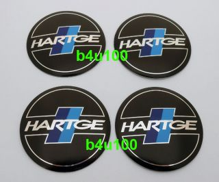 4PCS 3D metal Wheel Center Hub Caps Emblem Sticker for HARTGE b~