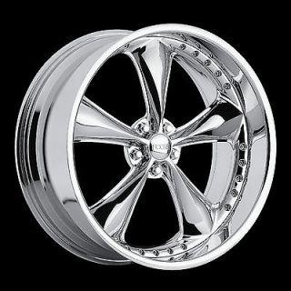 FOOSE Nitrous Wheel SET 17X8 17X9.5 Chrome Hot Rod Classic 17INCH RIMS