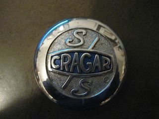 CRAGAR SS CENTER WHEEL CHROME CAP # 9080 VINTAGE