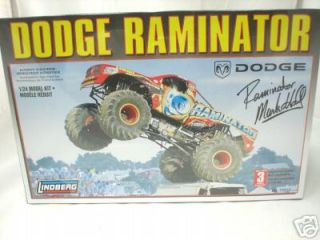 DODGE RAMINATOR MONSTER TRUCK LINDBERG MODEL KIT 1/24