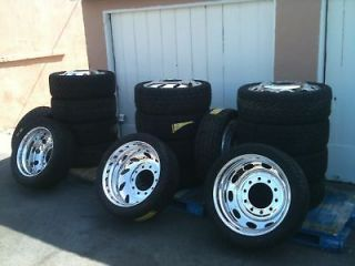 22 DUALLY WHEELS, TIRES, ADAPTERS & ACCESSORIES