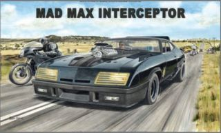Australian Cars & Transport Mad Max Interceptor Tin Sign