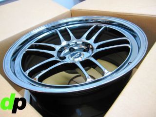 Set of 19  ENKEI RPF1 RACING Wheel Rim Staggered Fitment 22mm 5x114.3