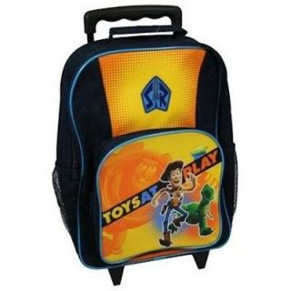 Disney Toy Story 3 Toys At Play Woody Rex Wheeled Bag Suitcase Holiday