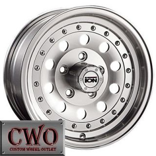 Newly listed 16 Machined ION 71 Wheels Rims 6x139.7 6 Lug Chevy GMC