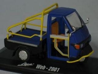 Italeri Metal 2001 Piaggio Vespa APE 3 Wheeled Truck