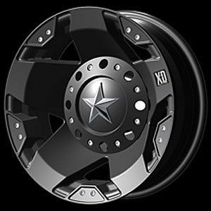 American Racing 77566080799N Rockstar Dually Series XD775 Matte Black