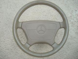 Mercedes Leather Steering Wheel & Air Bag w126 w124 w129 w140 w202