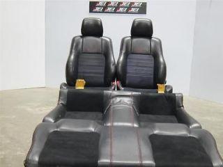 JDM HONDA PRELUDE BB6 Interior seats Black Leather Suede SI R 97 01