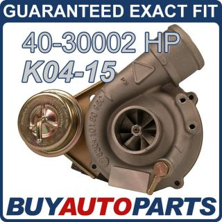 BRAND NEW AUDI A4 1.8L K04 15 UPGRADE TURBO 1996 2006 (Fits
