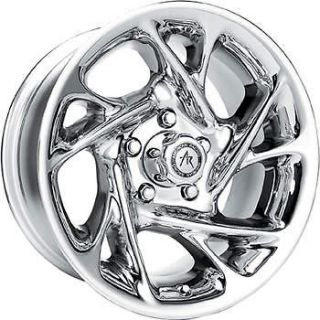 15x8 Chrome American Racing Nitro Wheels 6x5.5  19 Lifted ISUZU I 370