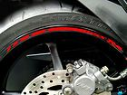 Suzuki Wheels Rim Stipe Decal Tape GSXR 600 750 1000 GS Stripes