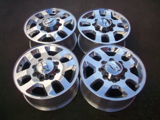 Chevy 2500HD 3500HD Polished Factory Wheels Rims 2011 2012 2013