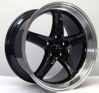 Deep Dish Mustang Cobra R Wheels 18x9 10 inch 2005 2013 18 inch Rims