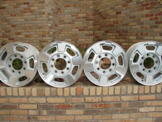 CHEVY GMC 17 OEM 8 LUG ALLOY WHEELS RIMS 2500 3500 HD 2011 thru 2013
