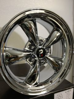 Chrome Cragar SS look Torque Thrust Wheels Rims Camaro S10 GTO 5x4 75