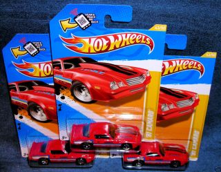 HOT WHEELS 2012 FIRST EDITION 1981 CHEVORLET CAMARO RED GM CHEVY HOT