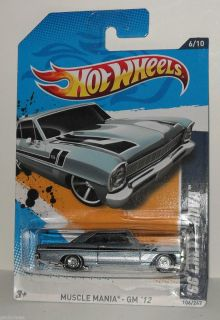 Hot Wheels 2012 Custom Super Treasure Hunts 66 Chevy Nova 106 247