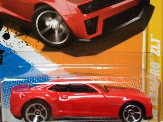 2012 Hot Wheels 12 Camaro ZL1 Red VHTF