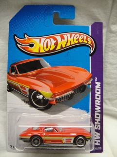 Hot Wheels 2012 2013 Custom Super Treasure Hunt 64 Corvette Sting