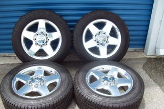 2011 2012 OEM Chevrolet Silverado 20 2500 Wheels Tires 2500HD 3500 GMC