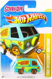 Hot Wheels 2012 Scooby Doo The Mystery Machine 77 Dodge Van Car 38 50