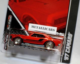 HOT WHEELS 2011 GARAGE FORD VS GM TRU EXCLUSIVE 1967 67 CHEVY CAMARO