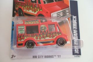 2011 Hot Wheels Good Humor Ice Cream Truck HW City Works