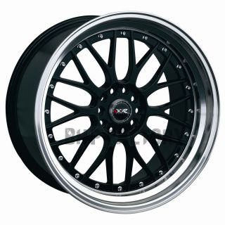 ET38 4x114 3 4x100 Black Lip Tuner BBs Alloys Rims Wheels Z1563