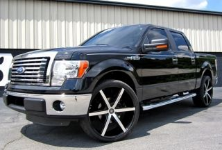 WHEELS TIRES RIMS LEXANI R SIX 6X135 BLACK FORD F150 2008 2009 2010