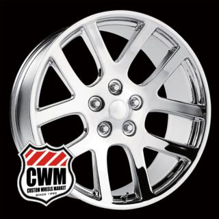 Replica Chrome Aluminum Wheels Rims 5 lug for Dodge Ram 1500 2010