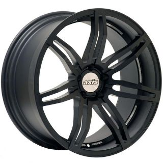 Matte Black Wheels Rims Fit BMW E60 E61 5 Series 2003 2009 M5
