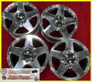 2011 GMC Sierra Denali 2500 3500 SRW 20 Polished Take Off Wheels Rims