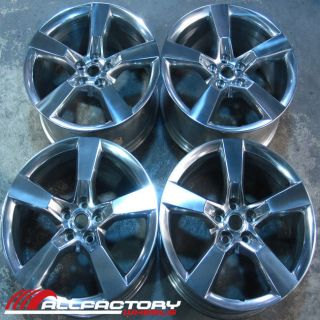 Chevy Camaro 20 2010 2011 2012 Rims Wheels Set of Four Polished 5443