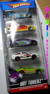 Collectible Boys Hot Wheels 2009 Racer Cars 5 Collectible
