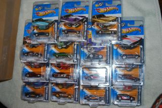 Hot Wheels 2012 Secret Super Treasure Hunt Full Set HTF Tresure box 15