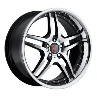 Black Chrome Wheels Rims Fit Mercedes CLK W208 W209 1996 2009