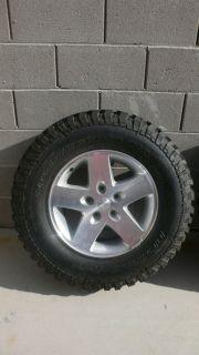Goodrich Baja Champion Mud Terrain Tires 2008 Jeep Rubicon Rims