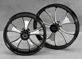 Yamaha Raider Midnight Custom Front Rear Wheels Kit 2008 2011