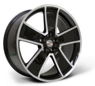 SLP 20 Five Spoke Aluminum Alloy Wheels 2010 2011 2012 Camaro SS RS