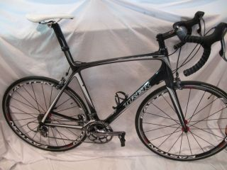 2008 Trek Madone 5 2 Ultegra SL FSA Carbon Bars Easton Wheels 58cm