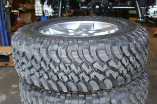 2007 2012 JK Jeep Wrangler Rubicon 17 Wheels Tires